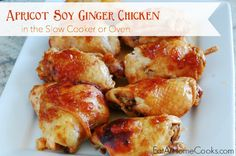 Apricot Soy Ginger Chicken