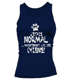 Tshirt  *J'étais normal*  fashion for men #tshirtforwomen #tshirtfashion #tshirtforwoment