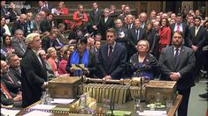 """Brexit vote: UK Houses of Parliament Vote on Article 50 Brexit 