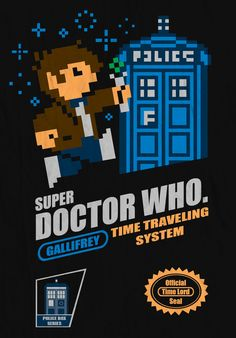 Doctor Who 8bit Retro