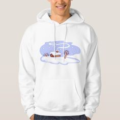 Winter Scene Mens Hoodie - diy cyo customize create your own personalize