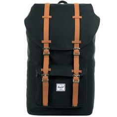 Herschel Little America Schooltassen zwart 59988.400   van Os tassen en koffers