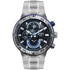 e1b9c69e5d6  TimeMob  Relógio Orient Masculino Chronograph MBSSC128 P1SX R 323