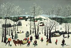 Painting for the Holidays | Art Appraisers - MIR Appraisal ... Grandma Moses