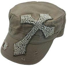 Cap Couture Women's Cross Cadet Hat One Size Cap Couture http://www.amazon.com/dp/B00OR5WSG8/ref=cm_sw_r_pi_dp_XlTtub09RF8FS