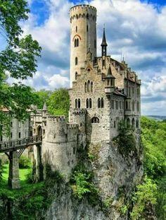Lichtenstein Castle, Wurttemberg , Germany