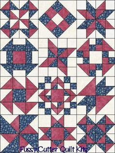 Image result for easy 2 or 3 color quilt blocks