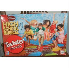 Whether you play or just watch, the smiles and laughter will be endless as you watch, twist and groove to the beats of the Disney musical hit wonder High School Musical 2 Edition. One game includes 2 CDs with classic High School Musical dance beats. Will make a great addition to your game collection for family game night.  $29.99 with free U.S. Shipping.
