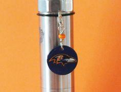 Vape Charm  Mod Charm  E cig Charm  Tank Charm  by VapingTreasures ecigarette charm wholesale vape charm  wholesale vapor charm football charm nfl charm  Baltimore Ravens vape charm