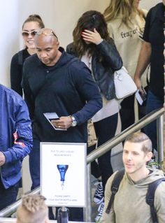 August 12: Selena at Brisbane International Airport in Brisbane, Australia