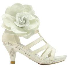 Girls High Heel Shoes, High Heels For Kids, Cute High Heels, Glitter High Heels, Girls Heels, Girls Sandals, Dress Sandals, Cute Shoes, Shoes Heels