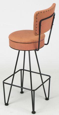 wrought iron bar stool