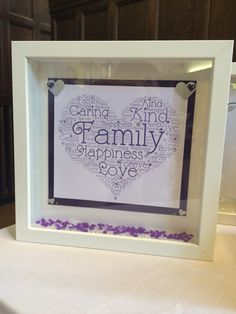 Personalised frame for a birthday only Personalised Frames, Nail Technician, Family Love, Birthday, Birthdays, Dirt Bike Birthday, Birth Day