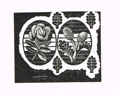 Eric Ravilious - Rose and Acorns