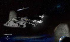 Rosetta's journey -  https://rosetta-legacy.tumblr.com/post/150723709257/rosetta-philae-fabulous-mission