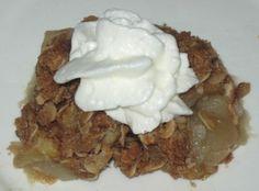 Old Fashioned Apple Crisp  recipe at www.fork-lore.com
