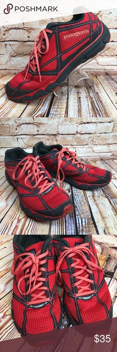 Patagonia Everlong Catalan Coral Trail Running These trail running shoes / sneakers are in very good, lightly worn condition. Minor scuffs, scratches and marks from wear. Please see pics for more details (: Patagonia Shoes Athletic Shoes