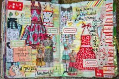 I love the idea of making pages for clothes you either want to buy, or make.