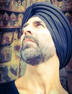 Akshay Kumar sharing his 'Singh is Bling' look. #Bollywood #Fashion #Style #Handsome #Instagram