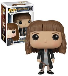 Harry Potter Hermione Granger - New, Mint Condition. This is the general release Harry Potter Hermione Granger POP model. This is a POP 'Movies' release in the Harry Potter series. Harry Potter Pop Vinyl, Harry Potter Tumblr, Harry Potter 2, Best Harry Potter Fanfiction, Harry Potter Accessories, Funk Pop, Harry Potter Hermione Granger, Pop Characters, Harry Potter Collection