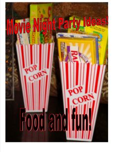 Pretty sure we are doing this for daughter's birthday! Movie Themed Birthday Party Ideas for Kids