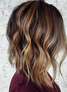 Trendy Caramel Hair Highlights for 2017 – Best Hair Color Ideas & Trends in 2017 / 2018