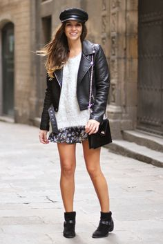 Ideal eazy outfits to wear to college party mini kleid blumenkleid mit rmel in schwarz Spring Outfits, Trendy Outfits, Trendy Fashion, Fashion Outfits, Mom Fashion, Vince Camuto, Trendy Taste, College Parties, Haute Couture Fashion