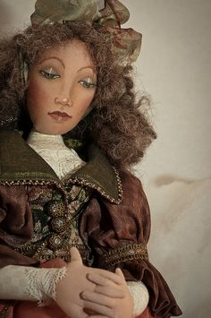 Handmade Art Doll by ❀Patti-Jo, via Flickr