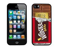 Capa para iPhone imita a barra de chocolate Wonka do filme A Fantástica Fábrica de Chocolates