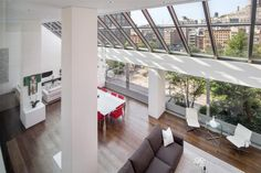 penthouse wohnung montreal designerin julie charbonneau, 71 best interior design - loft images on pinterest | ideas, attic, Design ideen