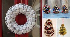 Basteln mit Tannenzapfen: 13 einfache, aber kreative Ideen für den Weihnachtsbaumschmuck | CooleTipps.de