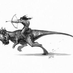 Image result for dinosaur rider