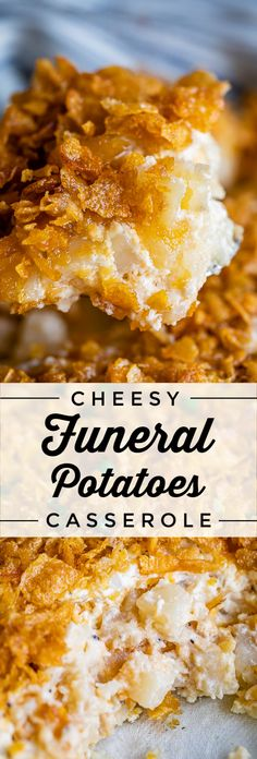 Funeral Potatoes (Cheesy Potato Casserole Recipe)