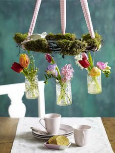 Pretty & Simple Easter Fresh Window Decoration Ideas_09
