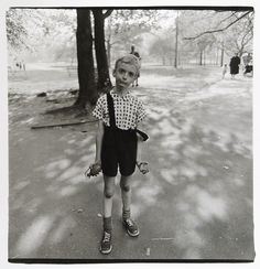 Boy with a Toy Grenade in Central Park, NYC (1962)