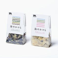 くまだ、海産乾物をブレンド「海のかけら」シリーズ2品発売 Brownie Packaging, Packaging Snack, Spices Packaging, Seed Packaging, Plastic Packaging, Brand Packaging, Tee Design, Design Poster, Label Design