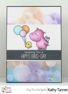 #mftstamps, happy hippos, bokeh tutorial