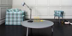 Gray 46 by Gervasoni | it is a round coffee table in walnut or oak perfect for your Livingroom. http://www.malfattistore.it/en/product/gray-46/ | #malfattistore #shoponline #interiordesignonline #coffeetable #italiandesign #gervasoni #wood #madeinitaly