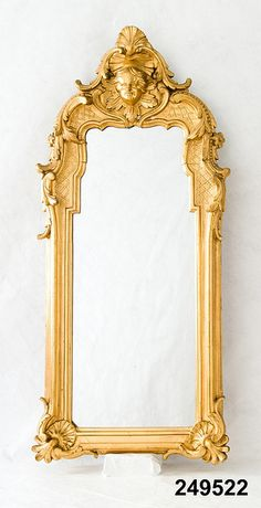 M is for Mirror, from 1903 (via Nordiska museet on Flickr) #MuseumABC