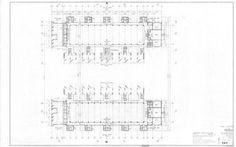 Salk Institute - Upper Level Plan