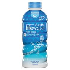 This is my new FAVORITE hydrating drink: SoBe Lifewater Pacific Coconut Water Beverage, 20 oz