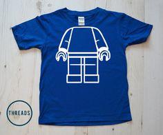 Lego Man Kids Tshirt T shirt  t-shirt kids birthday t shirts shirt gift idea