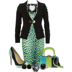 """""""Unnatural Animal Print"""" by sharp-bus on Polyvore"""