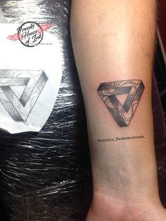 8caa75224 Pin by Casey Malinski on tattoo | Triangle tattoos, Sleeve tattoos ...