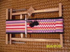 Inkle Loom, Weaving, Textiles, Crochet, Maya, Home Decor, Weaving Techniques, Crochet Hooks, Homemade Home Decor