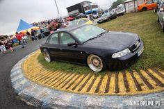 Audi A4 BBS deep dish wheels