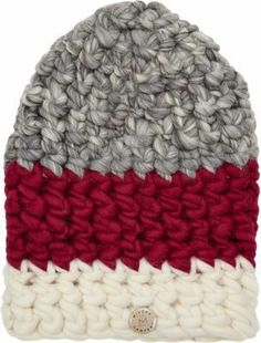 Mischa Lampert Colorblock Chunky-knit Beanie on shopstyle.com