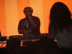 Dj Mustard at Wireless Festival 2015