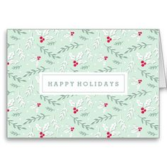Berries and Branches | Holiday Greeting Card