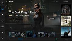 TiviBu_Tivi_reDesign_Watching_Page. Mobile Ui Design, Ui Ux Design, Web Dashboard, Car Ui, Tv App, The Dark Knight Rises, Web Layout, Web Design Inspiration, Smart Tv